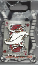Disney DSF Nightmare Before Christmas Playing Card Zero Ace of Hearts Pin