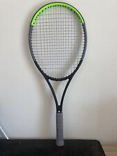 "New listing Wilson Blade 98 16x19 v7 4 1/2"" Tennis Racquet near perfect condition STRUNG"