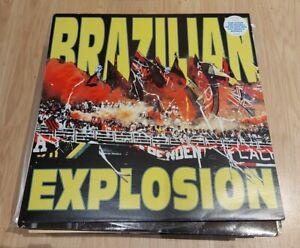 VARIOUS - BRAZILIAN EXPLOSION 2XLP MRBLP006 MR BONGO 1996 VG++!