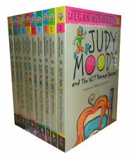 Judy Moody Collection by Megan McDonald 10 books set Brand New