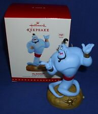 Hallmark Ornament Disney Aladdin Yo Rugman 2015 Big Blue Genie Sound NIB