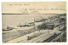 Russian Imperial Town View Perm Kama River Wharf PC