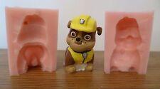 3d Paw Patrol escombro Molde de silicona para Tarta Decoración Chocolate