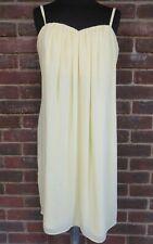 Coast Ladies Venus Short Dress Lemon Size UK 14 BNWT