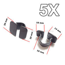 5X Bonnet Insulation Mat Clips, Fastener, Sound Blanket clip for VW, Audi