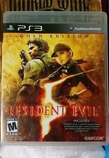 RESIDENT EVIL 5 GOLD EDITION COMPLETE (Sony PlayStation 3, 2010)