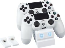 Venom PS4 Controller Twin Charging Dock - White - VS2737