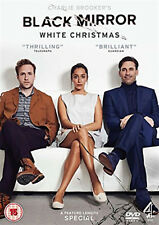 BLACK MIRROR WHITE CHRISTMAS DVD Jon Hamm Rafe Spall UK Release New R2
