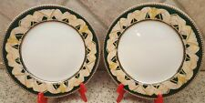 Set of 2 Muirfield DRESS CIRCLE Salad Plates Made in Sri Lanka