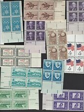 US - Packet of 30 plate # blocks  of 4 - all different  - MNH - B8986