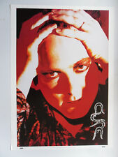 THE CURE ROBERT SMITH poster dimension environ 64 x 90 cm en 1992