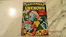 Challengers of the Unknown #57 September 1967 Vg+/Fn 5.0