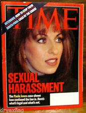 VINTAGE TIME Magazine Mar March 23 1998 FINE Paula Jones/Clinton/South Park