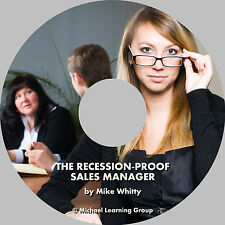 Auto Sales Training - The Recession-Proof Sales Manager Audio