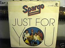 SPARGO-JUST FOR YOU-GO- FANDANGO'S INVITATION 45 giri vinile MAI SUONATO