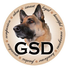 """GERMAN SHEPHERD"" Car Magnet ***QUALITY***"