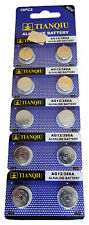 200 TIANQIU AG12 386A LR43 SR43SW LR1142 301 SR43 RW84 Alkaline Watch Battery US
