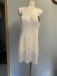 Wacoal Embrace Lace Chemise Size 2X In Delicious White Msrp $62.