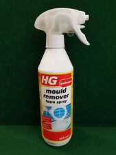 HG Mould Remover Foam Spray 500ml Foaming Action Gives Less Chance Of Splashing