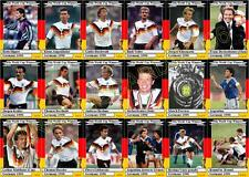 Germany 1990 World Cup winners football trading cards