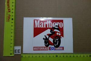 Alter Aufkleber Zigaretten Motorsport MARLBORO Motorrad YAMAHA