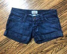 Frankie B Cuffed Denim Shorts Size 2