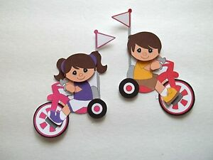 3D - U Pick -PL6 Play Skate Kite Trike Bike Scooter Card Scrapbook Embellishment
