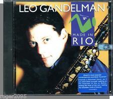 Leo Gandelman - Made in Rio - New 1993 Verve Forecast Jazz CD!