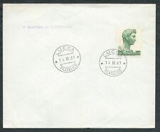 1969 ITALIA FDC DONATELLO SAN GIORNO 500 LIRE - F