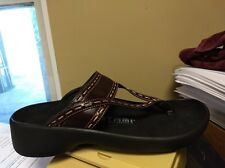 Birkenstock Tatami Kara Sandals Unisex Sized Size 41 EU/10 US NARROW CORDOVAN