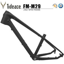 OEM Carbon Fiber Bike Frame 24ER Carbon Mountain Frameset 13.5'' MTB Frames