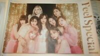 "Twice ""Feel Special"" poster - U.S. seller no delays - K-Pop dynamic girl group!"
