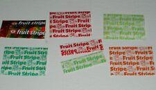 1970's Fruit Stripe Gum Wrappers