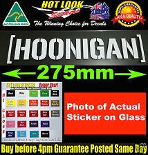 HOONIGAN KEN BLOCK STICKER Bomb Suit JDM EDM TURBO DRIFT DRAG RACING All Colours