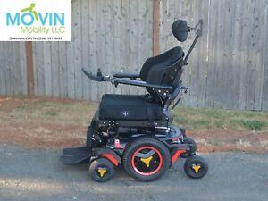 2020 Permobil M3 Electric Wheelchair with Power Seat Recline, Leg Lift, Tilt