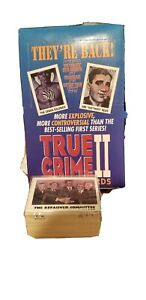 True Crime ll Trading Cards