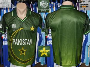 ICC Cricket World Cup 2011 Pakistan Boom Boom Shirt Jersey Camiseta Trikot