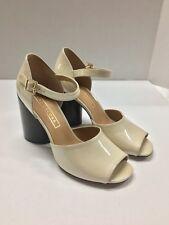 49eb01efa5e MARC JACOBS Kasia Patent Leather Sandal~Chunky Cylinder Heel~Size 8~Ankle  Strap