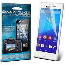Smart Glaze Triple Layer Screen Protector Guard Film For Sony Xperia M4 Aqua