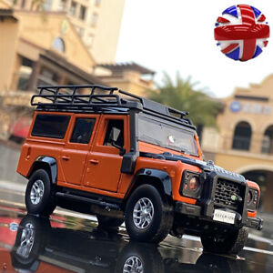 1:32 Land Rover Defender Off-Road Car Alloy Model Diecasts & Toy Vehicles Gifts