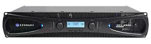 Crown Pro XLS1002 XLS 1002 700 Watt DJ/PA Power Amplifier Amp, Only 8 LBS + DSP!