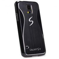 Urcover® Alu Handy Schutz Hülle für Samsung Galaxy S5 Hard Back Case Cover Etui