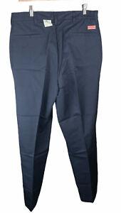 NWT Men's Red Kap Navy Blue Work Pants 36 x 30 Free US Shipping