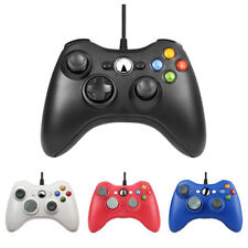 Wired USB Console Gamepad Controller Joypad For Microsoft XBOX 360 Windows 10 PC