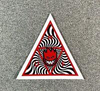 "HUF x SPITFIRE Triangle Skateboard Sticker 2.75"""