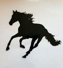2x Horse Car Van Vinyl Sticker Decal Window Running Galloping Show Jumping