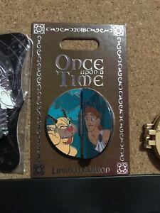 Disney Pin Disneyland Hercules with Meg Megara Once Upon a Time LE 2000 Flip Pin