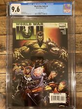 World War Hulk #4 NM+ (2007) CGC 9.6 Marvel Comics! Disney + MCU