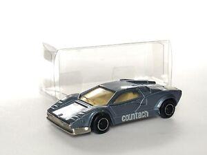 Majorette Lamborghini Countach Loose Excellent État 1/64 3 Inches