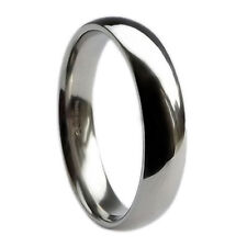 Platinum Band Fine Rings